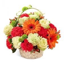 basket of flowers send 30 flowers basket to ahmedabad ahmedabadgiftshop