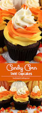 candy corn swirl cupcakes two sisters crafting