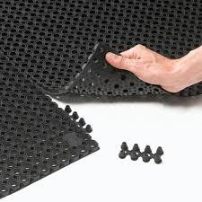 tappeti esterno tappeto non assorbente in gomma modulare per zona di intenso