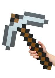 Mine Craft Halloween Costumes by Minecraft Pickaxe