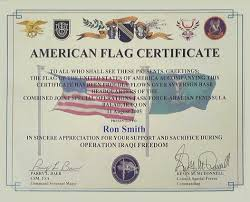 Flag Flown Over White House Smith Enterprise Inc
