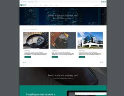 b2b joomla template with clean business design
