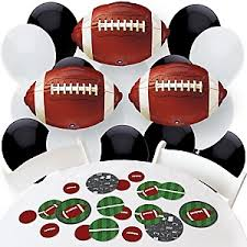 Poker Party Decorations End Zone Football Baby Shower Decorations U0026 Theme