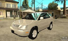 harrier lexus rx300 lexus rx300 for gta san andreas
