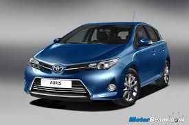 toyota upcoming cars in india 2013 toyota auris gives a sneak into upcoming corolla