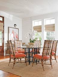 Tommy Bahama Dining Room Furniture Tommy Bahama Home Dining Room Beach Style With Metal Dining Table