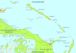 abaco resort map central abaco map bahamas treasure cay great guana cay marsh