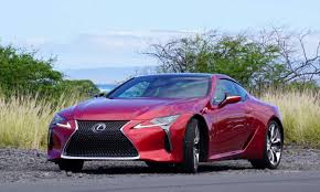 lexus lf lc blue 2018 lexus lc 500 first drive review autonxt