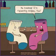 Sock Meme - relationship humor and relationship cartoons about being single