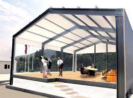 temporary building modular prefab for construction sites