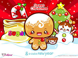creepy kawaii background kawaii christmas gingerbread man i u003c3 gingerbread pinterest