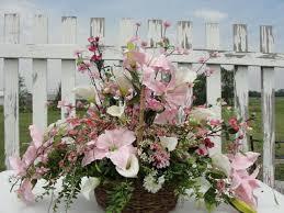 Country Baskets 27 Best Flower Arrangements Images On Pinterest Silk Flowers