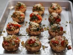 stuffed mushrooms recipe valerie bertinelli food network