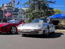 porsche 959 rally porsche 959 at the 2014 scarsdale concours mind over motor