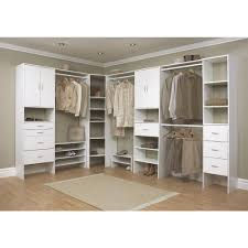 simple dressing room with home depot closet organizer wire white