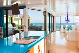 modern beach kitchen eclectic modern beach house a fantastic example of mix and match
