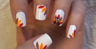 25 thanksgiving nail art ideas