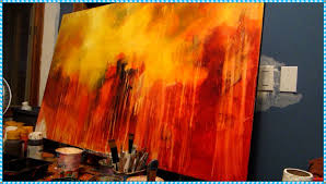 creative acrylic painting ideas home interior image of abstract