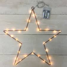 battery operated star lights metal star led lights battery operated
