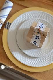 Nautical Themed Dinnerware Sets - nautical table setting diy beach themed tablescape bystephanielynn