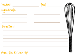 recipe cards template 28 images 40 recipe card template and