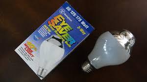 westinghouse 50 125 175watt 3way eye saver reading light bulb
