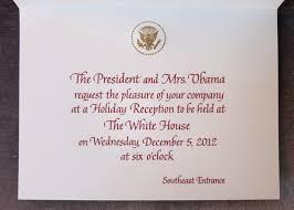 House Invitation Card Obama Food Orama One The Obamas U0027 2012 Holiday Cards Feature