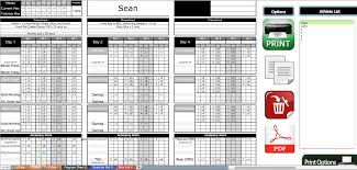 100 weight lifting template excel sample olympic