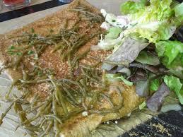 salicorne cuisine gallete a la salicorne et fromage local batardine picture of l