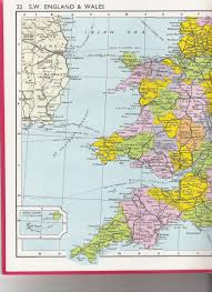 Map Of Wales And England by Mtdna Haplogroup U6b