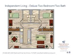 senior living floor plans newforest estates