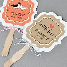 fan wedding favors theme paddle fan wedding favors