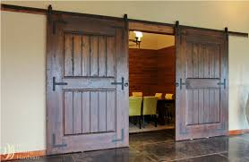 Sliding Door Wood Double Hardware by Barn Wood Sliding Door Hardware Closet Set Antique Barn Door