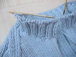 how to knit a sweater not martha i m knitting another sweater beginning the collar