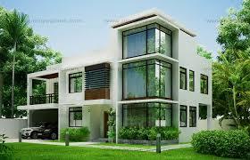home design modern house design 2012002 eplans
