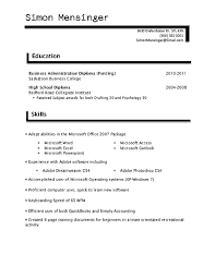 skills and training for resume amitdhull co