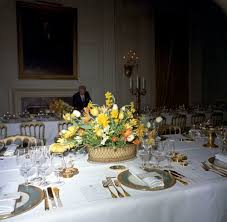 kn c20283 flower arrangement and table settings for white house