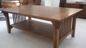 craftsman style coffee table mission style coffee and end tables writehookstudio com