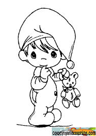 plush design ideas baby boy coloring pages precious moments for