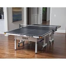 ping pong table tennis joola rapid play 250 black indoor 25mm ping pong table pingponggalore