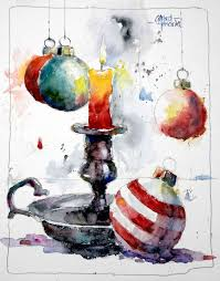 christmas cards in watercolor 192 best images about watercolor christmas on