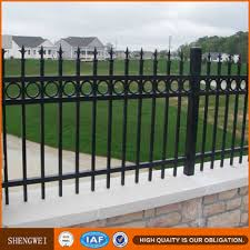wrought iron fence panels square tube iron fence wrought iron