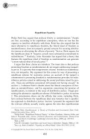 republican equality kyle swan social theory and practice