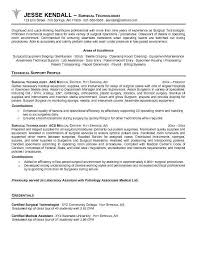 Sterile Processing Resume Duties Of A Surgical Technologist Surgical Technologist Job