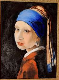 girl with pearl earring painting with the pearl earring painting by nickerson