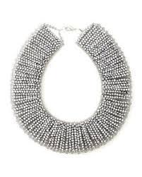 Nakamol Czech Crystal Beaded Chandelier Nakamol Bracelet Simple Lien En Cuir Noir Et Perles Argentees