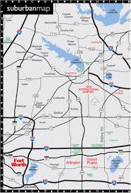 Dallas Fort Worth Area Map by Key Dallas City Map