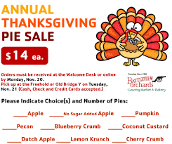 thanksgiving assistance annual thanksgiving pie sale u2013 ymca of western monmouth county