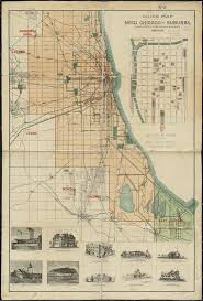 Chicago Downtown Map by File 1889 Guide Map Of New Chicago And Suburbs By Stine U0026 Clark