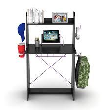 Purple Computer Desk by Ladder Desk In Black With Purple Edging